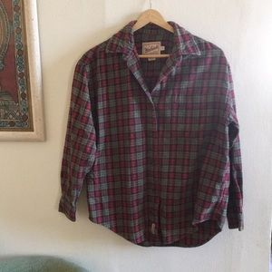Well loved Woolrich women's flannel size small